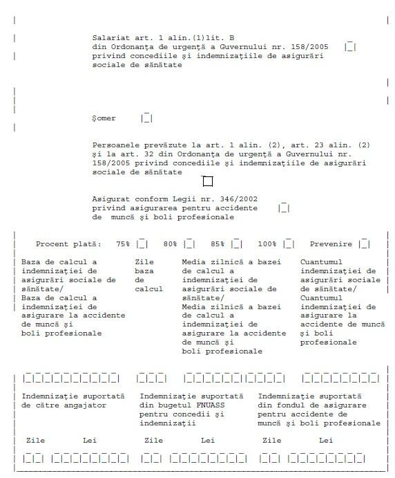 Procedura pentru eliberarea concediilor medicale in caz de carantina   Model aviz epidemiologic