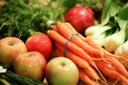 TVA redus la fructe si legume