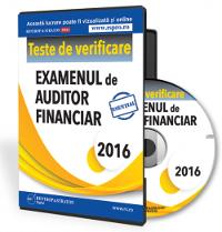 Teste de verificare pentru examenul de Auditor financiar 2016