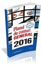 Planului de Conturi GENERAL 2016