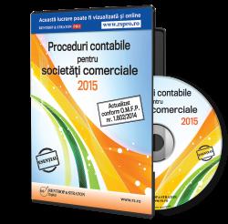 Proceduri contabile pentru societati comerciale 2015