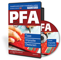 PFA: Taxe, Impozite si Deduceri - conform Codului fiscal 2017