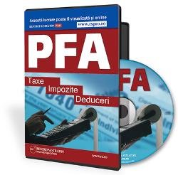 PFA: Taxe, Impozite si Deduceri - conform Codului fiscal in vigoare