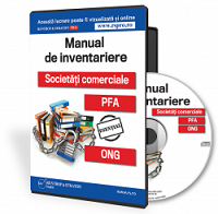 Manual de Inventariere. Societati Comerciale. PFA. ONG