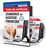 Examen auditor financiar 2018. Teste de verificare