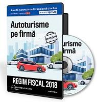 Autoturisme pe firma. Regim fiscal in 2018