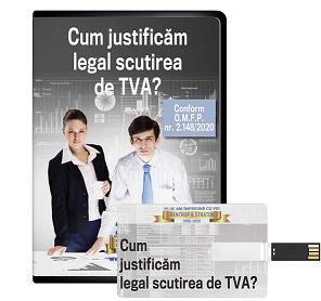 Cum justificam legal scutirea de TVA