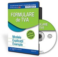Formulare de TVA 2016: Modele, Explicatii si Exemple