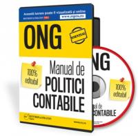 Manual de Politici contabile pentru ONG, 100% editabil
